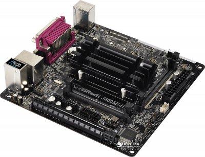 Материнська плата ASRock J4005B-ITX (Intel Celeron J4005, SoC, PCI-Ex16)
