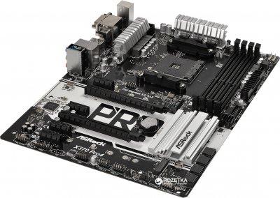 Материнская плата ASRock X370 Pro4 (sAM4, AMD X370, PCI-Ex16)
