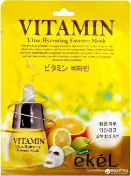 Тканевая маска Ekel с Витамином С 25 мл (8809430538792)
