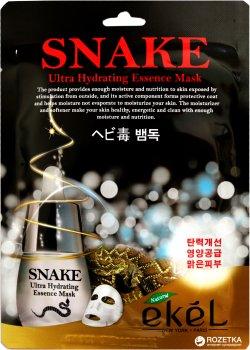 Тканевая маска Ekel Эффект ботокса с экстрактом Змеиного яда 25 мл (8809242274635)