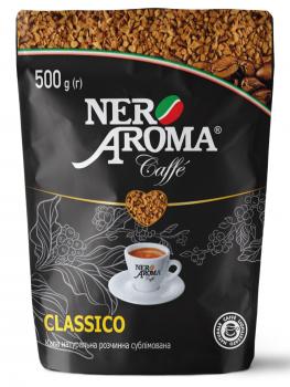 Кава розчинна Nero Aroma 500 г (4820093482509)