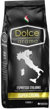 Кофе в зернах Dolce Aroma Super Crema 1 кг (8019650002922)