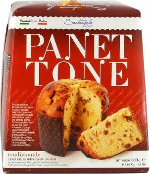 Кекс Santagelo Panettone Tradizionale 500 г (8003896080028)