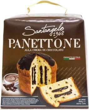 Кекс Santangelo Panettone Alla Crema Di Cioccolato 908 г (8003896080189)