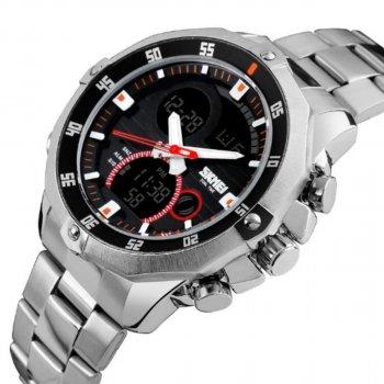 Чоловічий годинник Skmei 1146 Silver BOX (1146BOXSR)