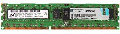 Оперативна пам'ять HP DDR3-RAM 2GB PC3-10600R ECC 2R (500202-161) Refurbished