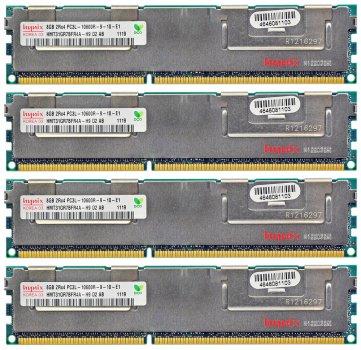 Оперативна пам'ять Fujitsu DDR3-RAM 32GB 4x8GB PC3L-10600R ECC 2R LP (S26361-F4523-L643) Refurbished