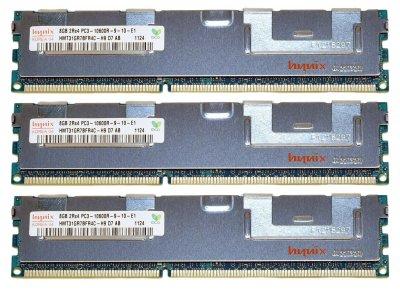Оперативна пам'ять Fujitsu DDR3-RAM 32GB Kit 4x8GB PC3-10600R ECC 2R (38016437) Нове