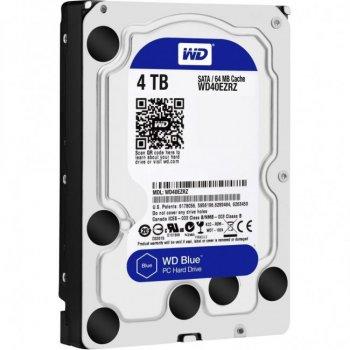 """Жорсткий диск 3.5"""" SATA 4TB WD Blue (WD40EZRZ)"""