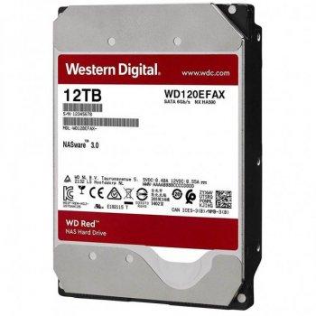 "Жорсткий диск 3.5"" SATA 12TB WD Red (WD120EFAX)"