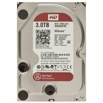 "Жорсткий диск 3.5"" SATA 3TB WD Red (WD30EFRX)"