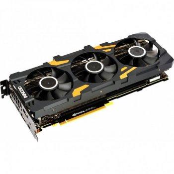 Видеокарта PCI-E GeForce RTX2080 Ti 11GB DDR6 Inno3D X3 GOC (N208T3-11D6X-1150VA24)