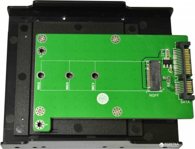 "Конвертер Maiwo SATA to M.2 (NGFF) SSD в 3.5"" отсек компьютера (KT001B)"
