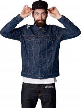 Джинсова куртка Trucker Dark Blue KDJ-0104 Синя