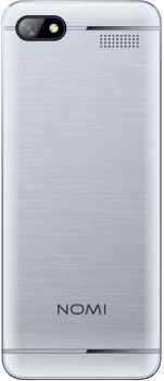 Мобильный телефон Nomi i2411 Silver