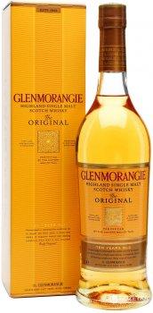Виски Glenmorangie Original 10 лет выдержки 1 л 40% в подарочной упаковке (5010494560121)