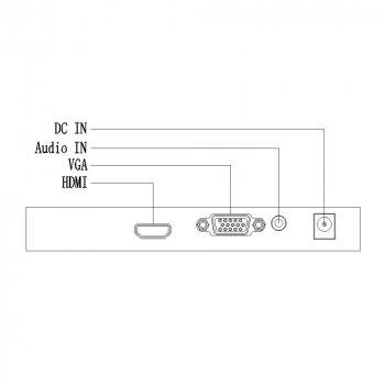 """Монитор 24"""" LED FHD Uniview MW3224-V"""