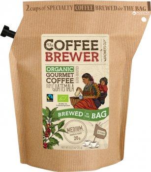 Кофе молотый Grower's Cup обжаренный органический из Гватемалы 20 г (5710129700976)