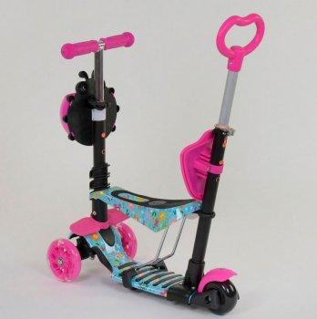 Самокат 5 в 1 Best Scooter Рожевий (26901)