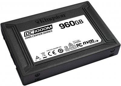 "Kingston DC1000M 960GB 2.5"" PCIe 3.0 x4 3D NAND TLC (SEDC1000M/960G)"