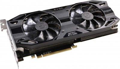 EVGA PCI-Ex GeForce RTX 2080 Super Black Gaming 8GB GDDR6 (256bit) (1815/15500) (USB Type-C, HDMI, 3 x DisplayPort) (08G-P4-3081-KR)