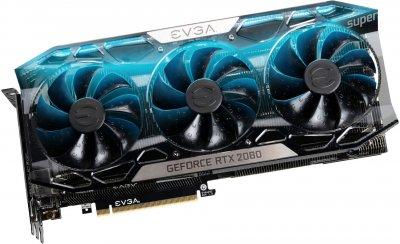 EVGA PCI-Ex GeForce RTX 2080 Super FTW3 Ultra Gaming 8GB GDDR6 (256bit) (1845/15500) (USB Type-C, HDMI, 3 x DisplayPort) (08G-P4-3287-KR)