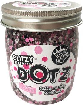 Лизун Compound Kings Slime Glitzy Dotz з блискітками аромат Іриска 210 г (300146-4) (683332455375)