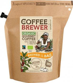 Кофе молотый Grower's Cup обжаренный органическая из Эфиопии 20 г (5710129702284)