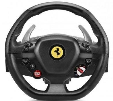 Дротовий руль ThrustMaster T 80 Ferrari 488 GTB Edition PC/PS4 Black