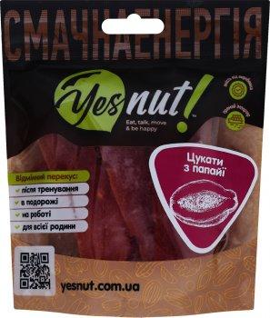 Упаковка цукатів з папайї Yesnut! 100 г х 2 шт (9979473214560)