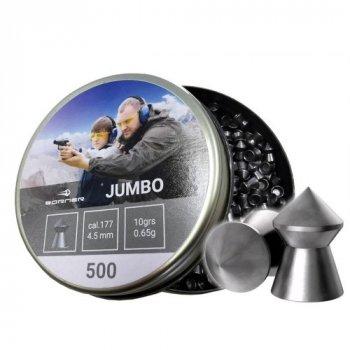 Свинцовые пули Borner Jumbo 0.65 g 500 шт для спортивной стрельбы 4.5 мм