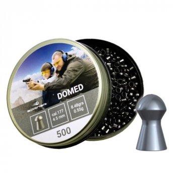 Свинцовые пули Borner Domed 0.55 g 500 шт для охоты и спортивной стрельбы 4.5 мм