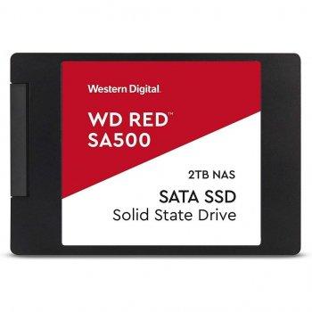 """Накопичувач SSD 2.5"""" SATA 2TB WD Red (WDS200T1R0A)"""