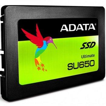 "Накопичувач SSD 2.5"" SATA 960GB A-Data Ultimate SU650 (ASU650SS-960GT-R)"