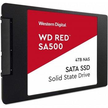 """Накопичувач SSD 2.5"""" SATA 4TB WD Red (WDS400T1R0A)"""