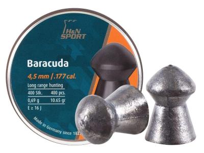 Кулі Haendler Natermann Baracuda, 4,5 мм , 0,69 г, 400 шт/уп