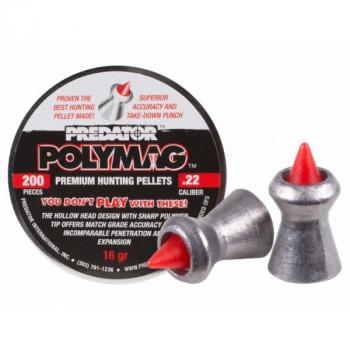 Кулі пневм JSB Polymag, 5,5 мм , 1,03 г, 200 шт/уп
