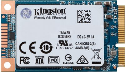 Kingston SSD UV500 480GB mSATA SATAIII 3D NAND TLC (SUV500MS/480G)