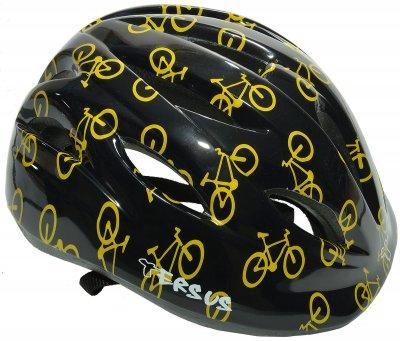 Велосипедний шолом Tersus RIDER black bike / Розмір 52-57 см (18-OWT21-T007-S)