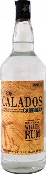 Ром Ron Calados Caribbean Original White 1 л 37.5% (5021692700301)
