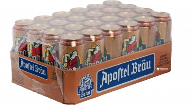 Упаковка пива Eichbaum Apostel Brau светлое фильтрованное 5 % 0.5 л x 24 шт (4054500614010)