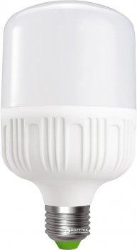 Светодиодная лампа Euroelectric LED Plastic 30W E27 4000K (LED-HP-30274(P))