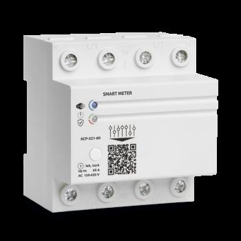 WiFi лічильник електроенергії трифазний Баклер КСР-321-60А
