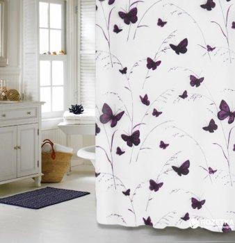 Шторка для ванної Мій Дім Butterflies 180x180 см NJ10252