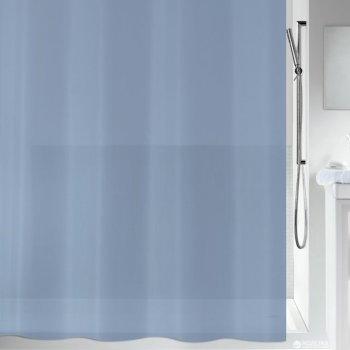 Шторка для ванної Spirella Bio PVC 180x200 PEVA Сіро-синя (10.20155)