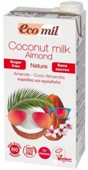 Органическое растительное молоко Ecomil Кокосово-миндальное без сахара 1 л (8428532230290)