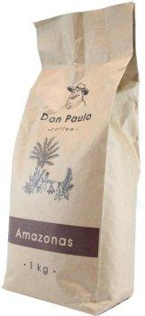 Кофе в зёрнах Don Paulo Amazonas 1 кг (4820140040188)