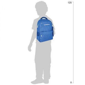"""Рюкзак шкільний Cool for School 400 з пеналом 16"""" CFS для хлопчика Sky Blue (CF86519)"""