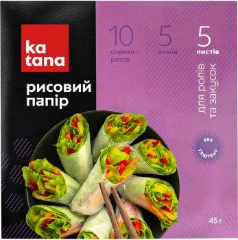 Рисовий папір Katana 5 аркушів 50 г (4820131230581)