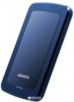 Жесткий диск ADATA DashDrive HV300 2TB AHV300-2TU31-CBL 2.5 USB 3.1 External Slim Blue